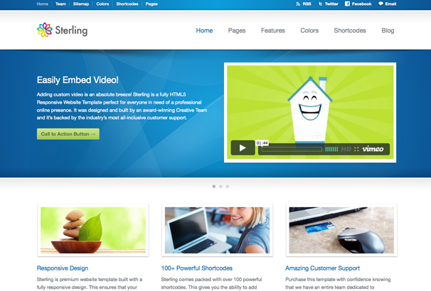 Best HTML Technology App Software Website Templates - Html web page template