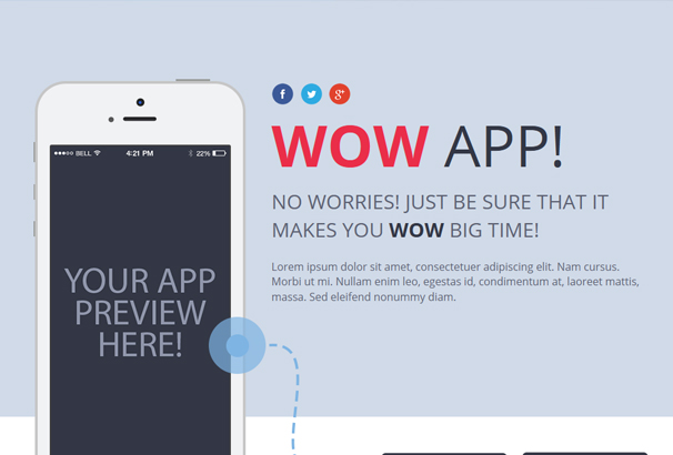 wow-instapage-mobile-app-landing-page