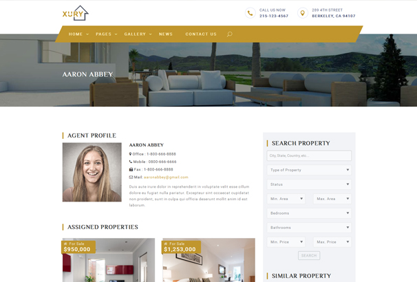 xury-real-estate-responsive-html-template