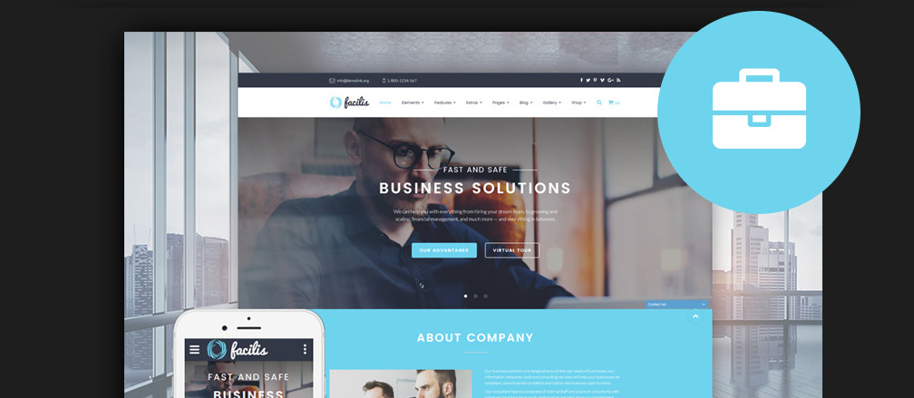 HTML Business Website Templates