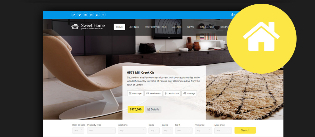 Best HTML & Bootstrap Real Estate Website Templates