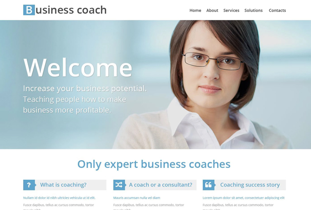 50 best html education website templates 2017 business school website template wajeb Images