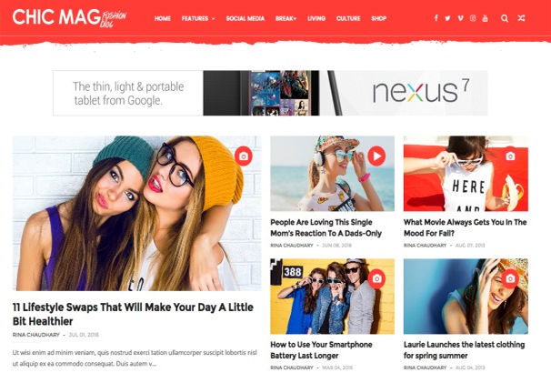 Top 50+ Best Free Blogger Templates 2017
