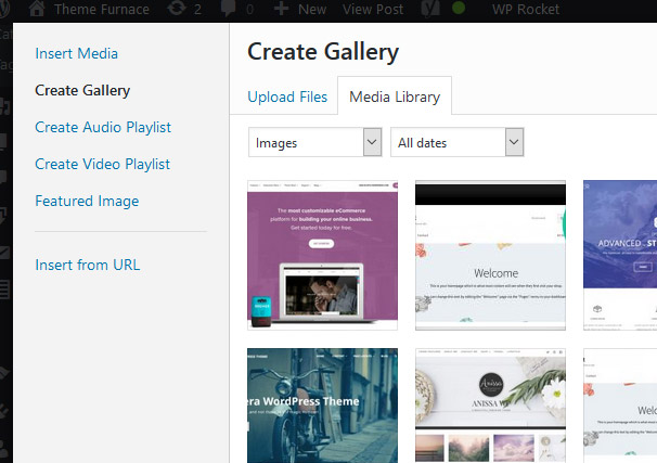 Create a Gallery