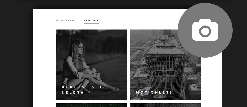 HTML Photography Website Templates