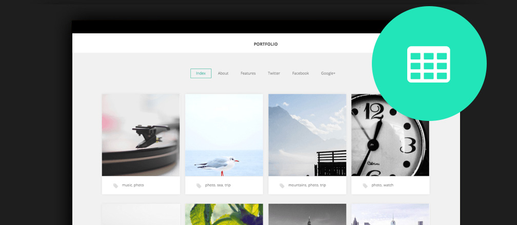 Free Grid WordPress Themes
