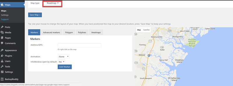 Wp Google Maps General Settings