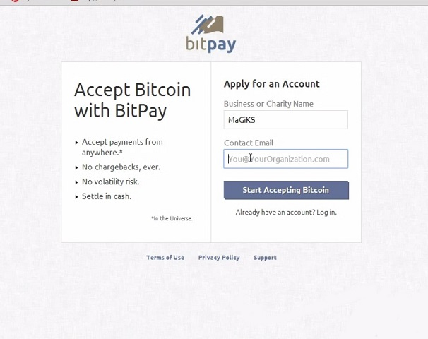 Accepting Bitcoin