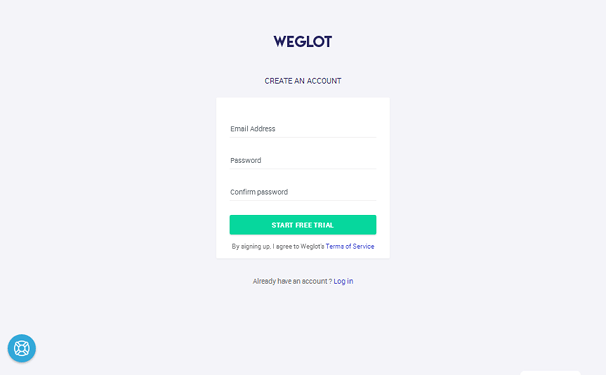 Sign Up with Weglot